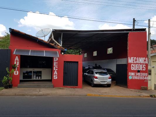 Fachada Oficina Guedes & Auto Peças