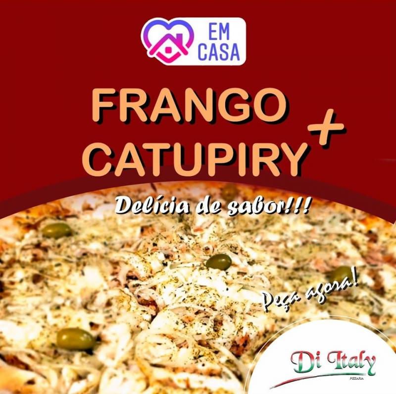 Pizza Frango mais Catupiry
