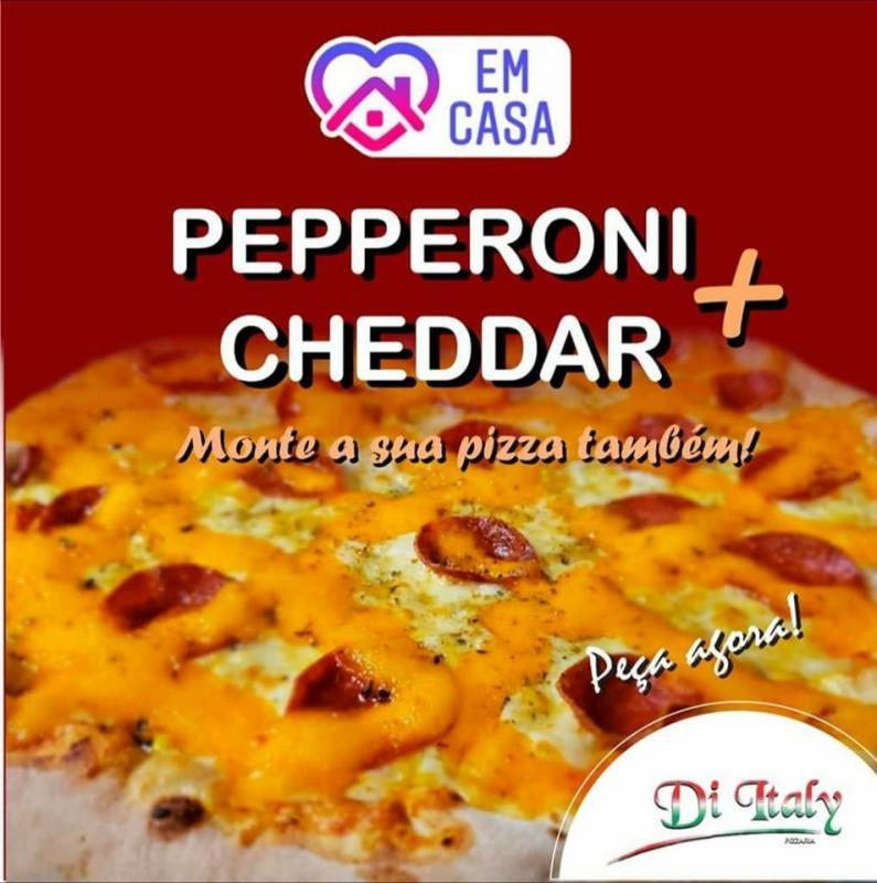 Pizza Pepperoni mais Cheddar