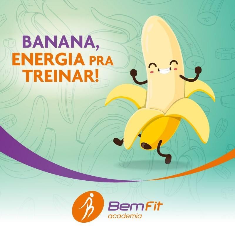 Banana Energia pra Treinar