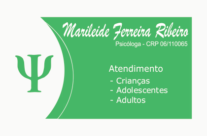 Marileide Ferreira Ribeiro - Psicóloga CRP 06/110065