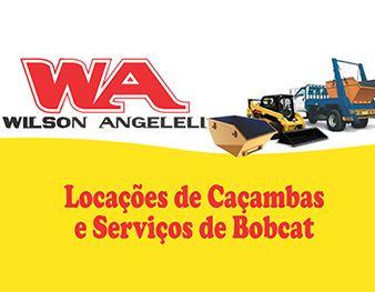 WA Wilson Angeleli Locações de Caçambas